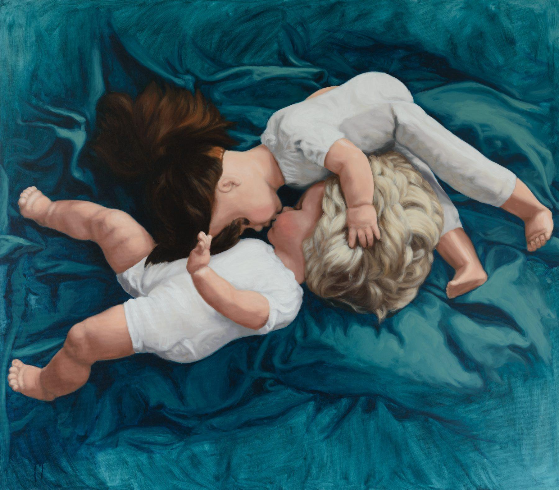 Martina Büttner: Painting, embracing no.1, 2009
