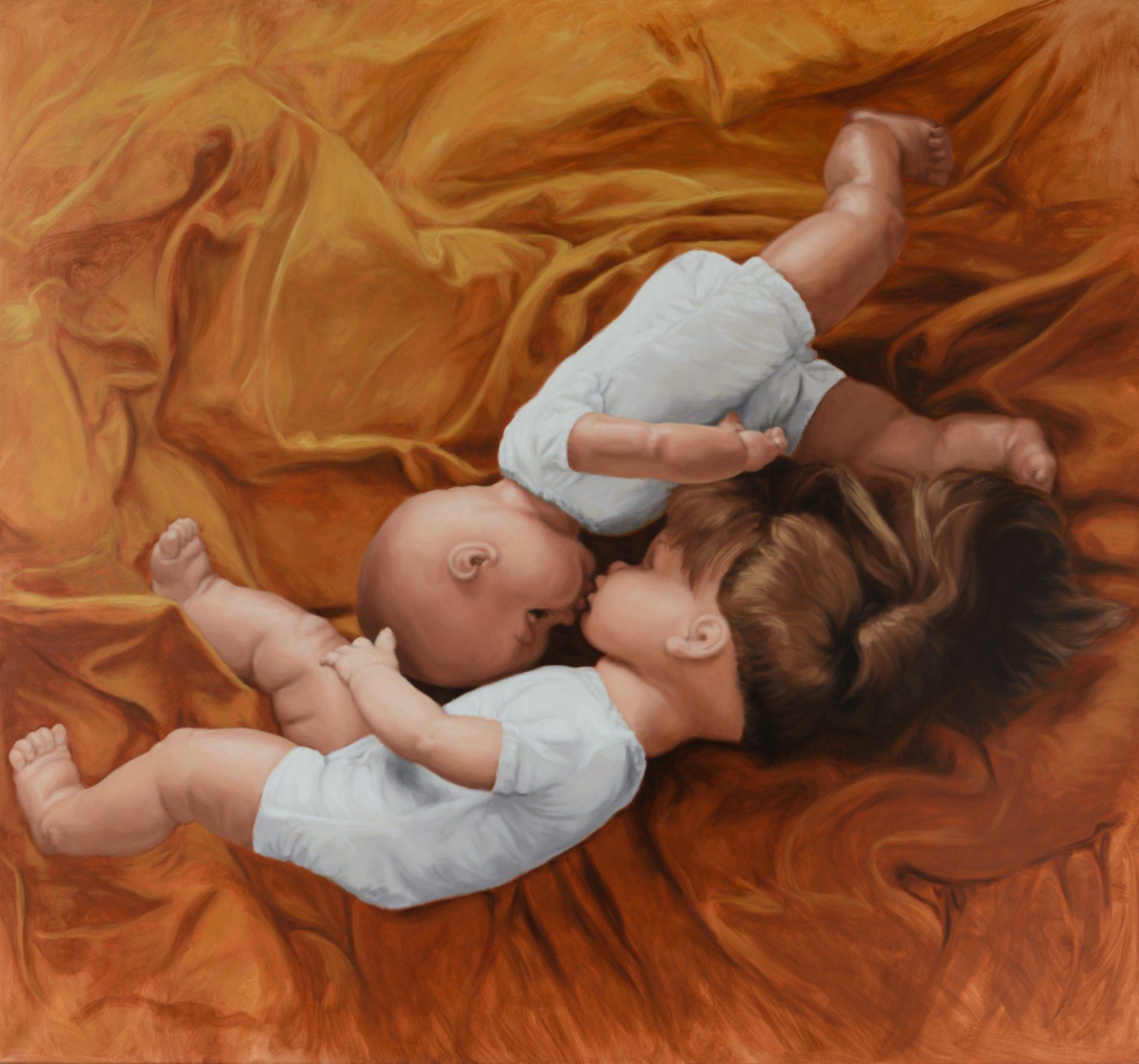 Martina Büttner: Painting, embracing no.2, 2010