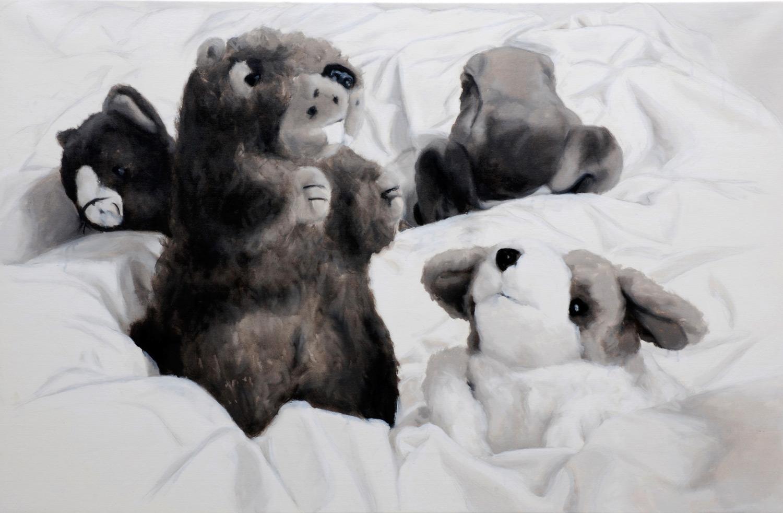 Martina Büttner: Painting, endgame, 2008