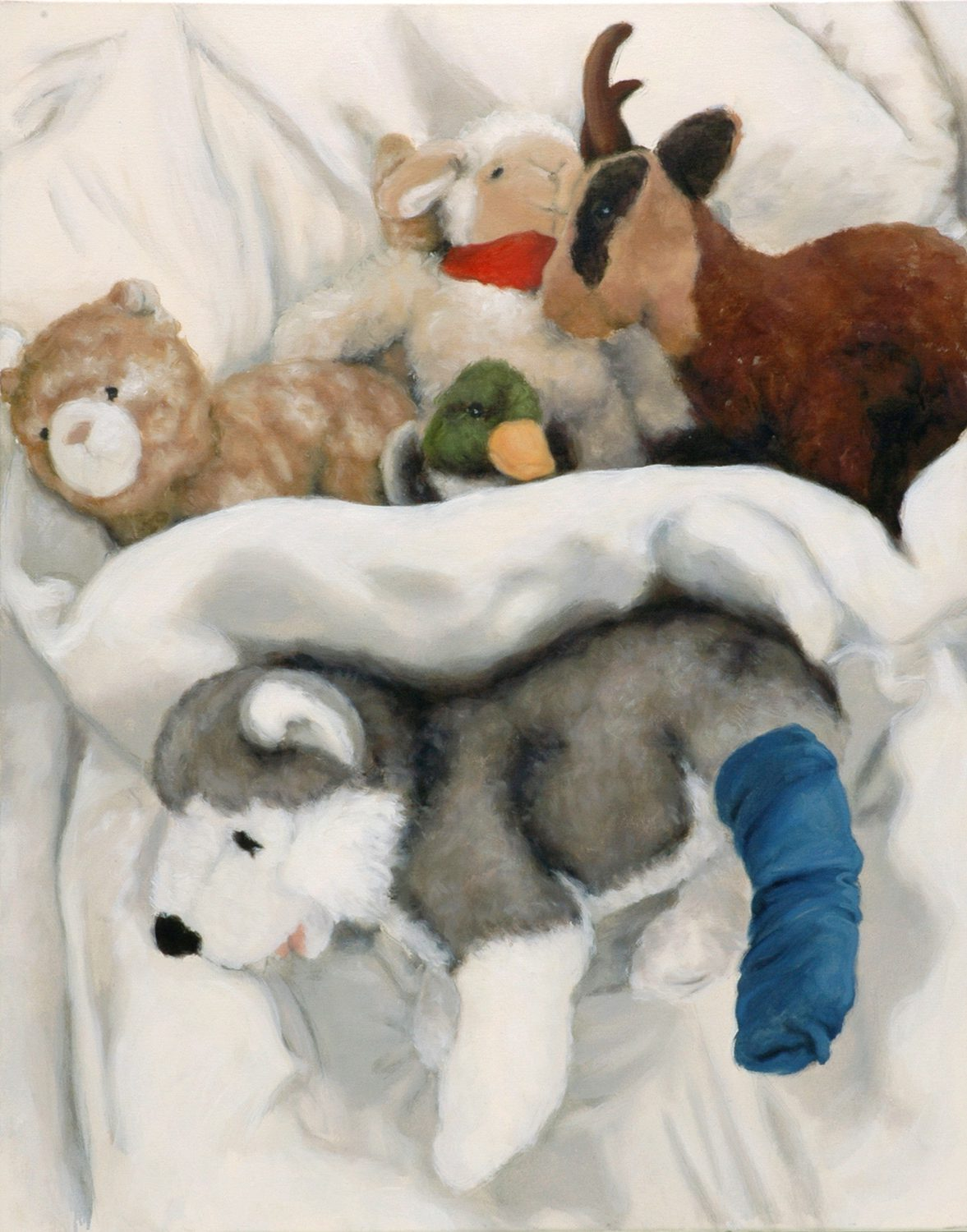 Martina Büttner: Painting, family #10, 2007
