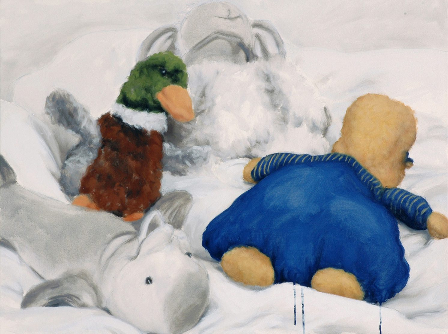 Martina Büttner: Painting, family #3, 2007