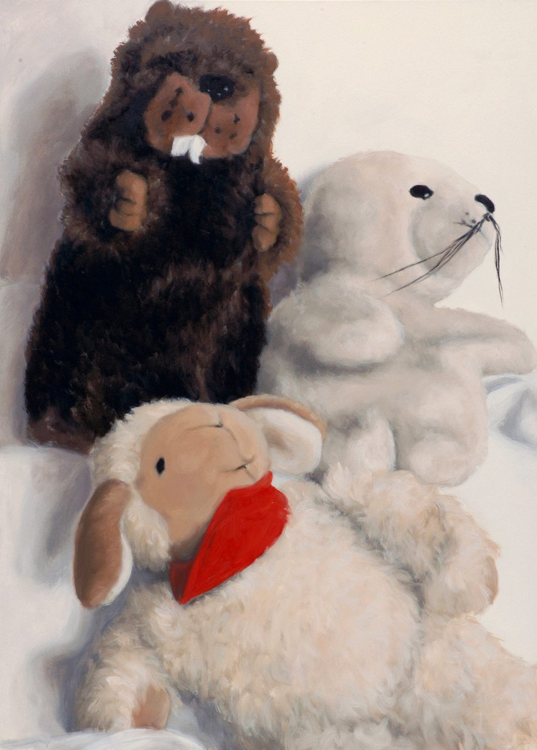 Martina Büttner: Painting, family #5, 2007