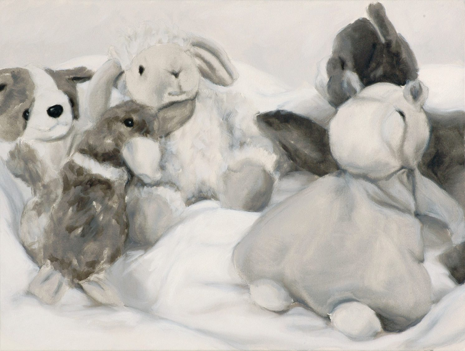 Martina Büttner: Painting, family #7, 2007