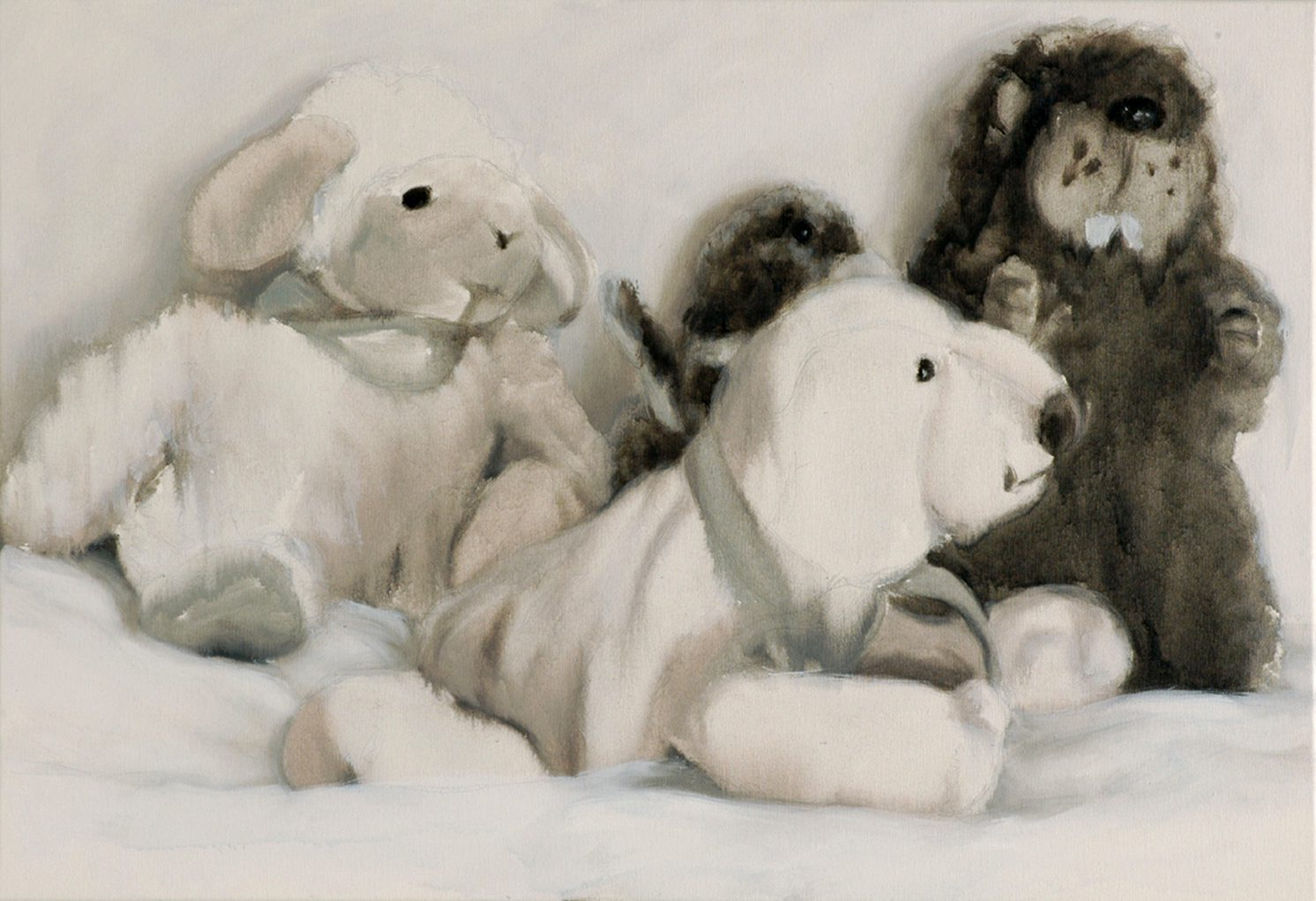 Martina Büttner: Painting, family #8, 2007