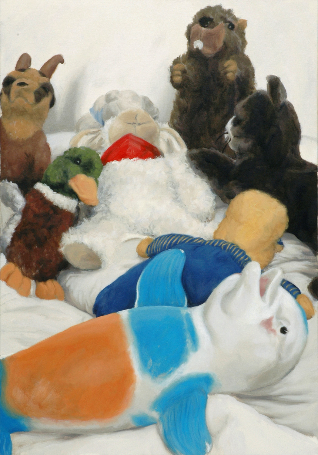 Martina Büttner: Painting, family #9, 2007
