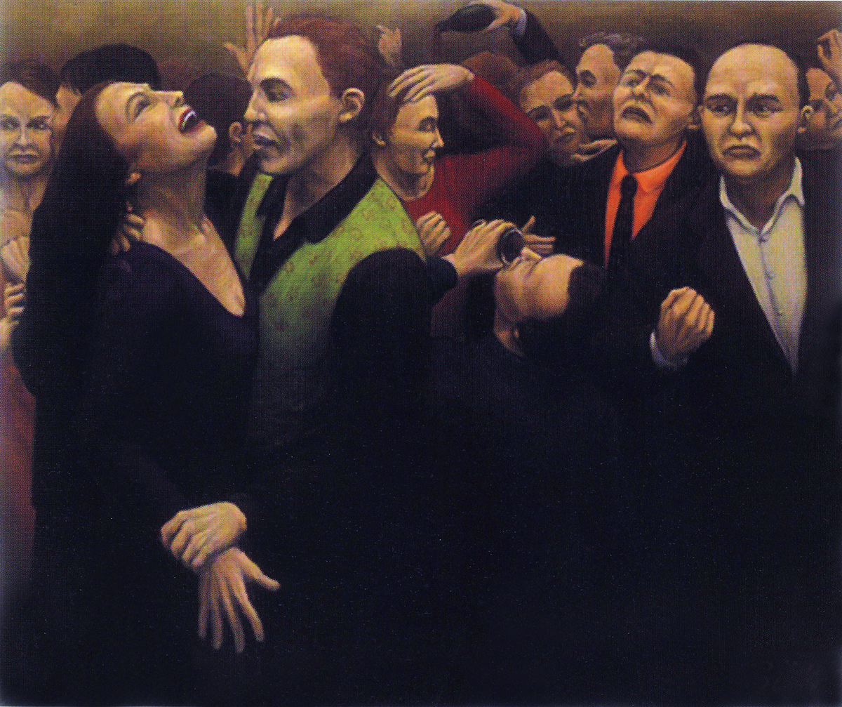 Martina Büttner: Painting, party 1998