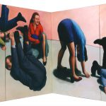 Martina Büttner: Painting, somersaults 2000