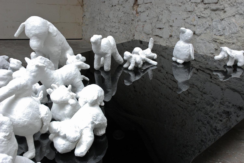 Martina Büttner installation meeting detail 2008