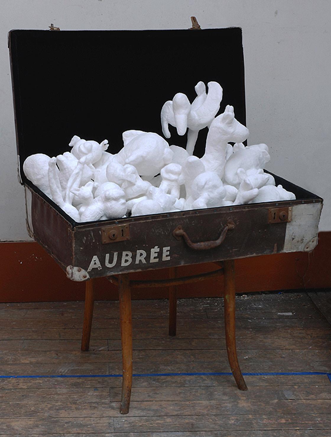 Martina Büttner installation world-around-trip 2009