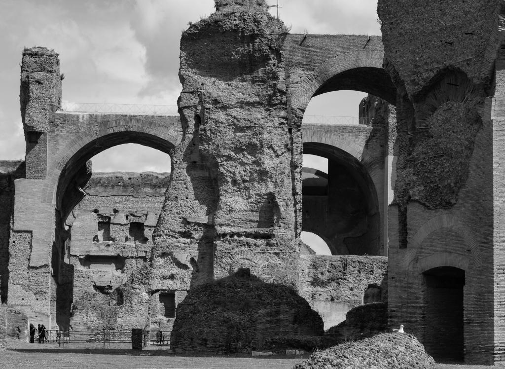 Baths of Caracalla, Rome 2018