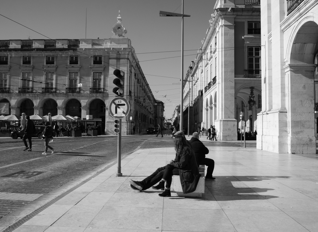 Lisbon street view, 2019