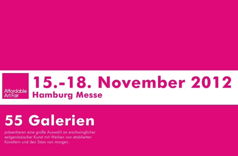 Galerie Jens Goethel – Affordable Art Fair Hamburg 2012