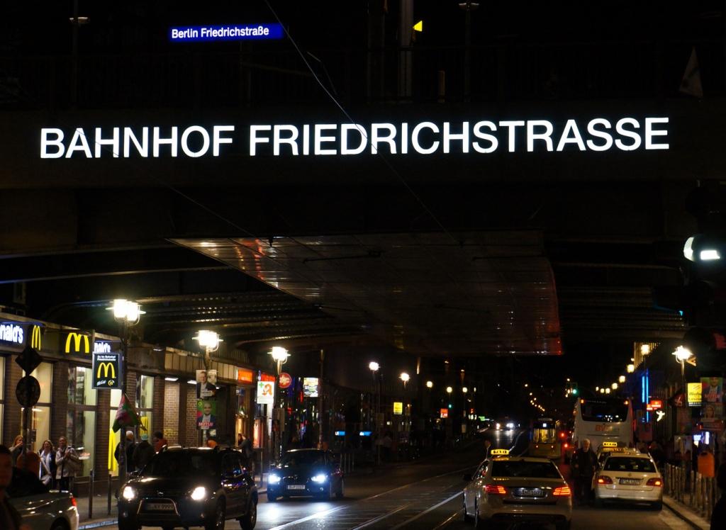 Berlin Friedrichstraße 2017