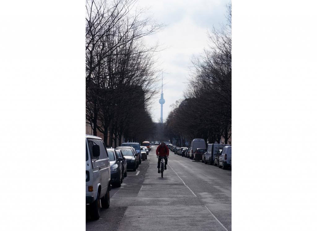 Berlin view Prenzlauer Berg, 2018