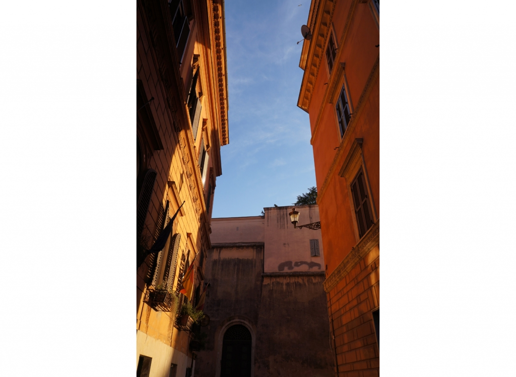 Evening light, Rome