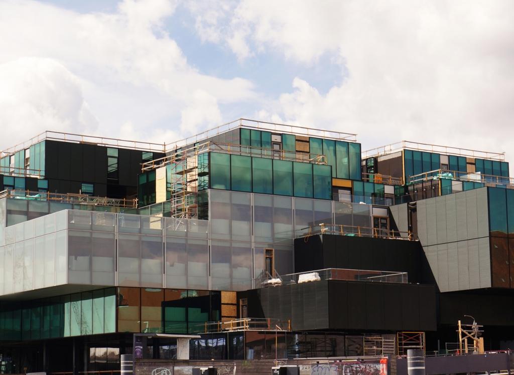 Martina Büttner: Copenhagen modern building 2017