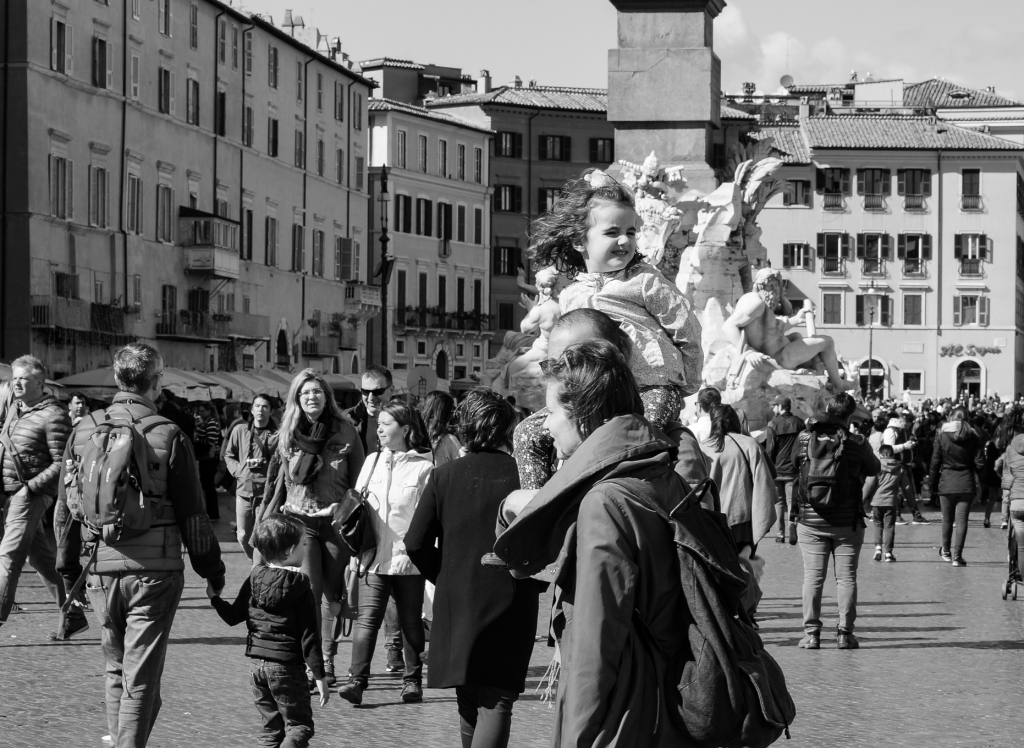 People Piazza Navona, 2018