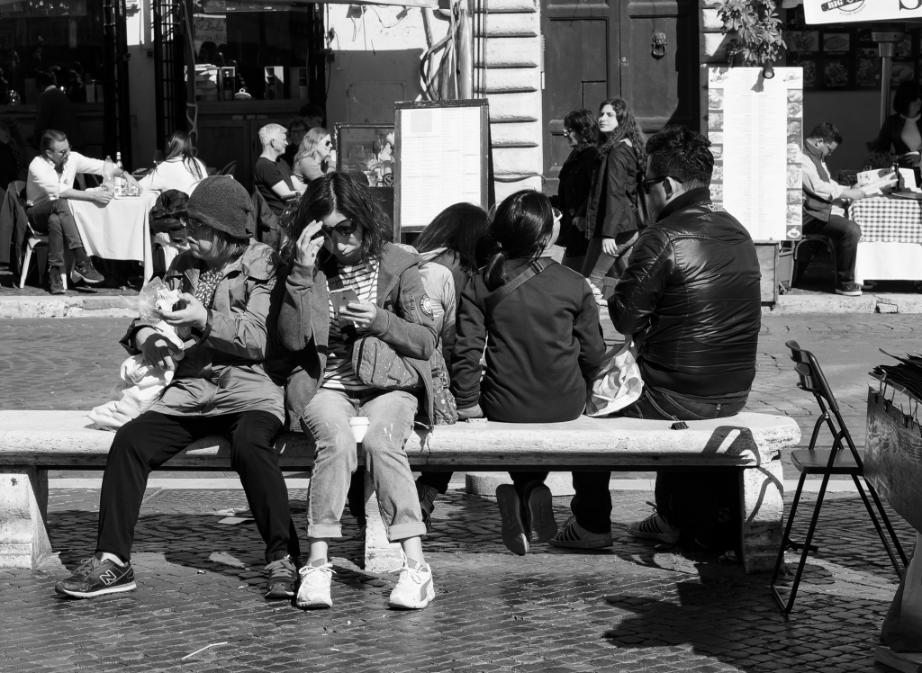 People Piazza Navona, Rome 2018