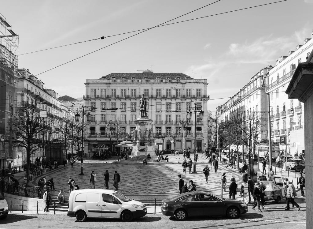 Praça Luís de Camoes, Lisbon, 2019