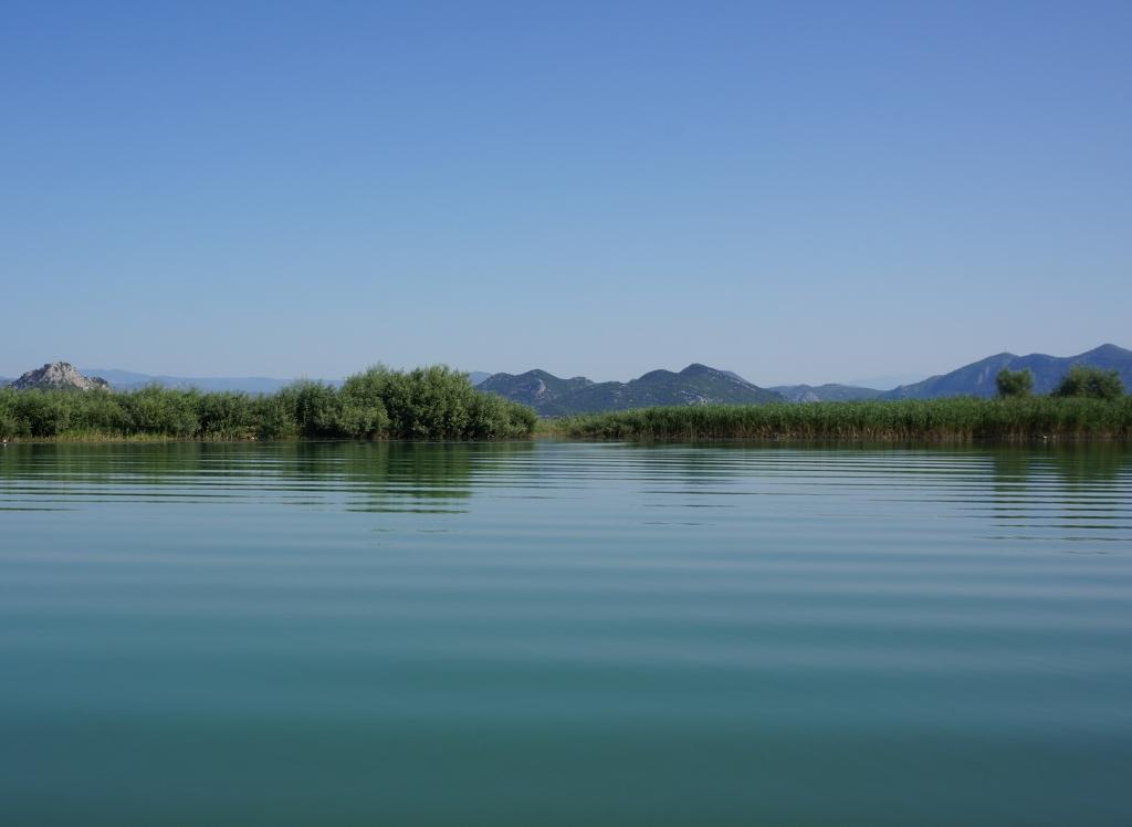 Skhodar Lake and mountains, Montenegro