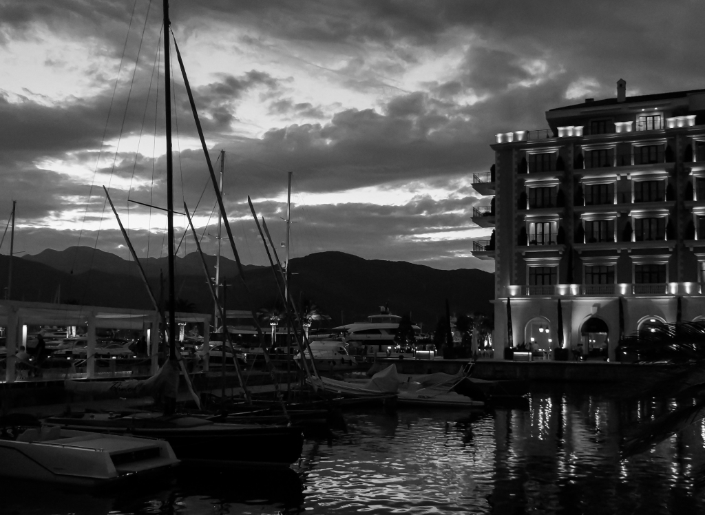 Tivat harbour, Montenegro, 2018