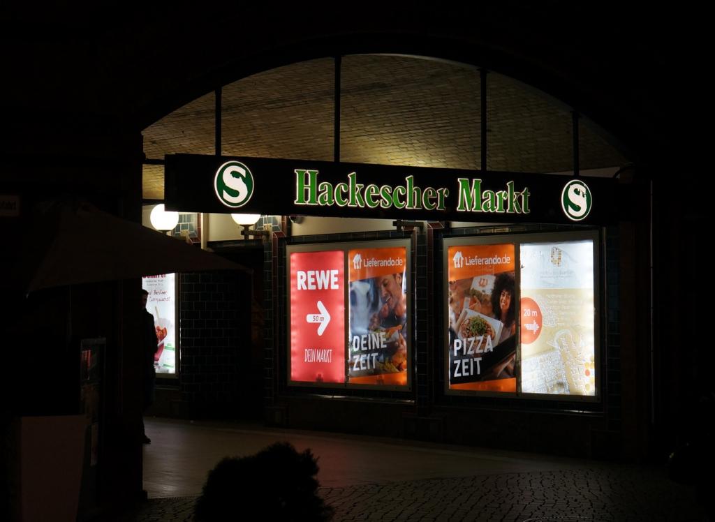 Martina Büttner: Berlin Hackescher Markt 2018
