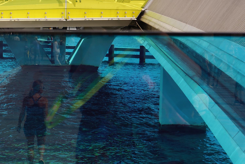 Martina Büttner: Reflections Copenhagen Bridge 2017