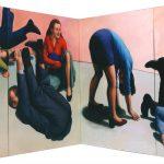 Martina Büttner: Painting, somersaults 2000
