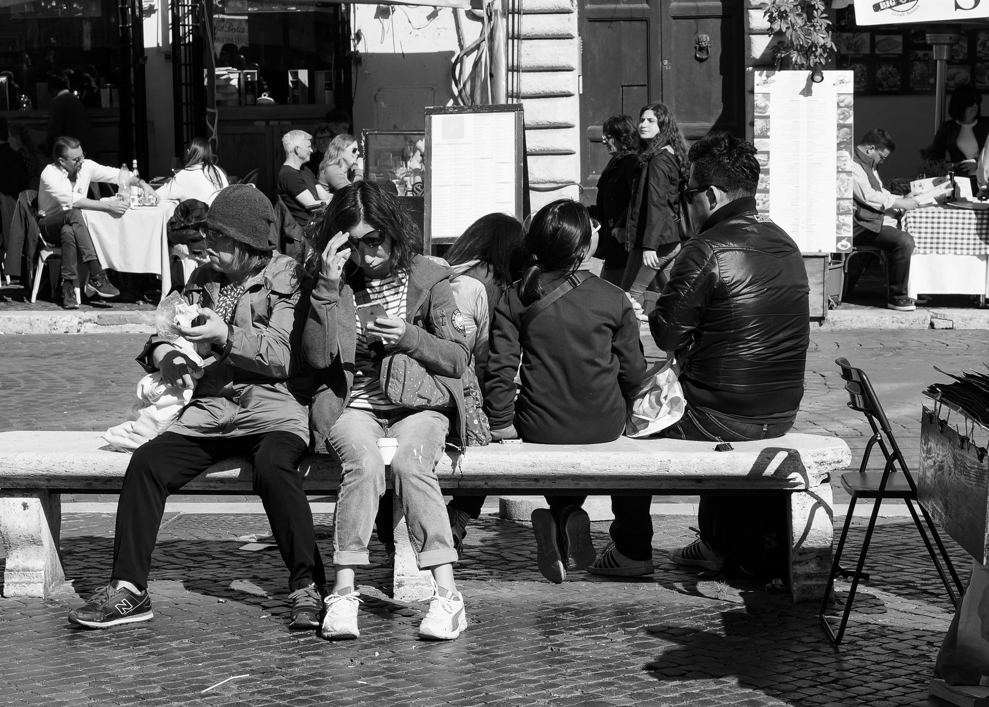 People Piazza Navona, Rome 2018