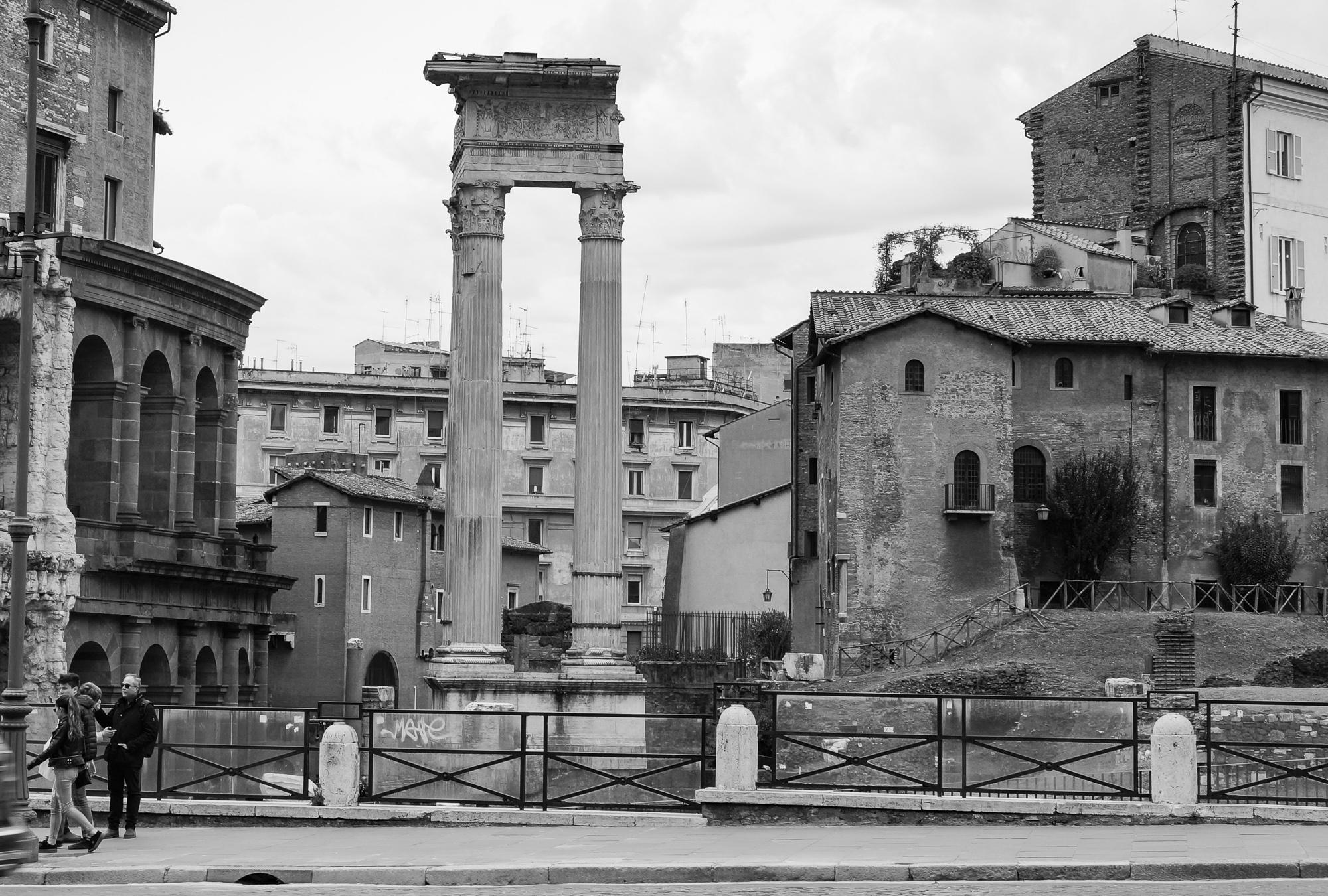 Rome street view, 2018
